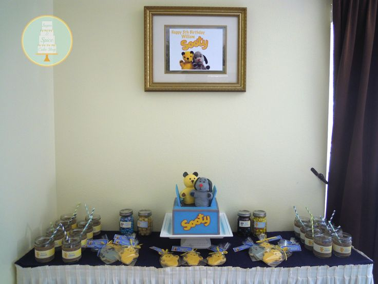 Sooty and Sweep's Sweet Table