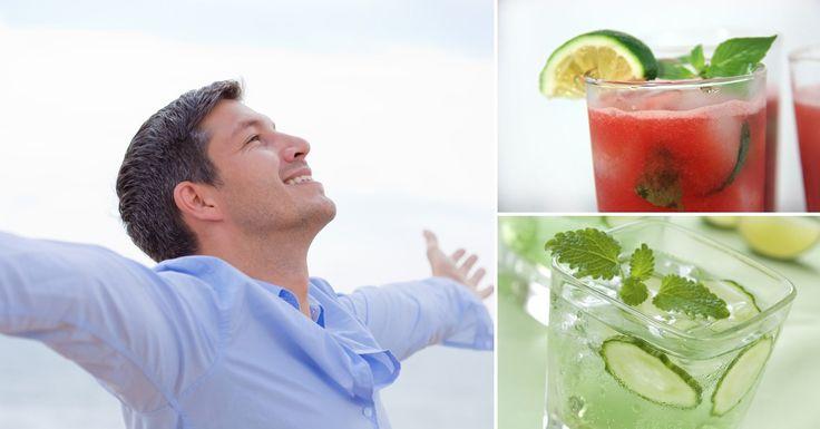 Aguas detox para desintoxicar tu cuerpo