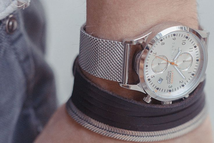 Triwa STIRLING LANSEN CHRONO watch available at www.mulierstore.com
