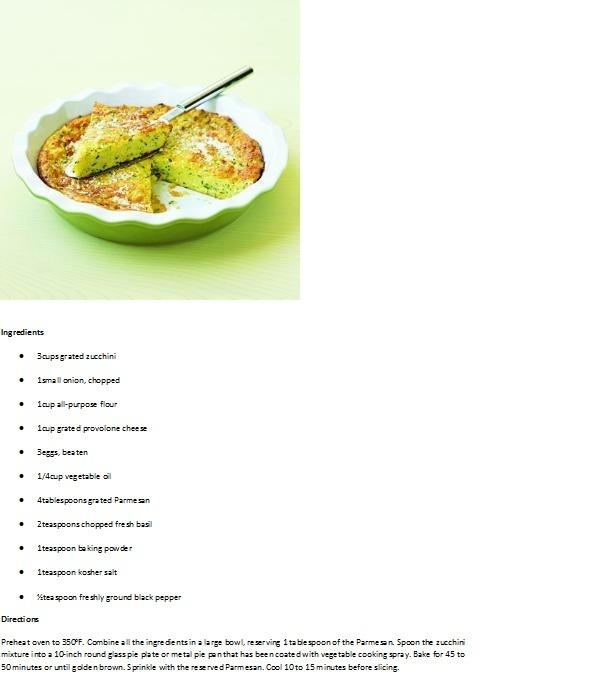 Zucchini Pie- My favorite side dish #GEfreshIL | Food | Pinterest ...
