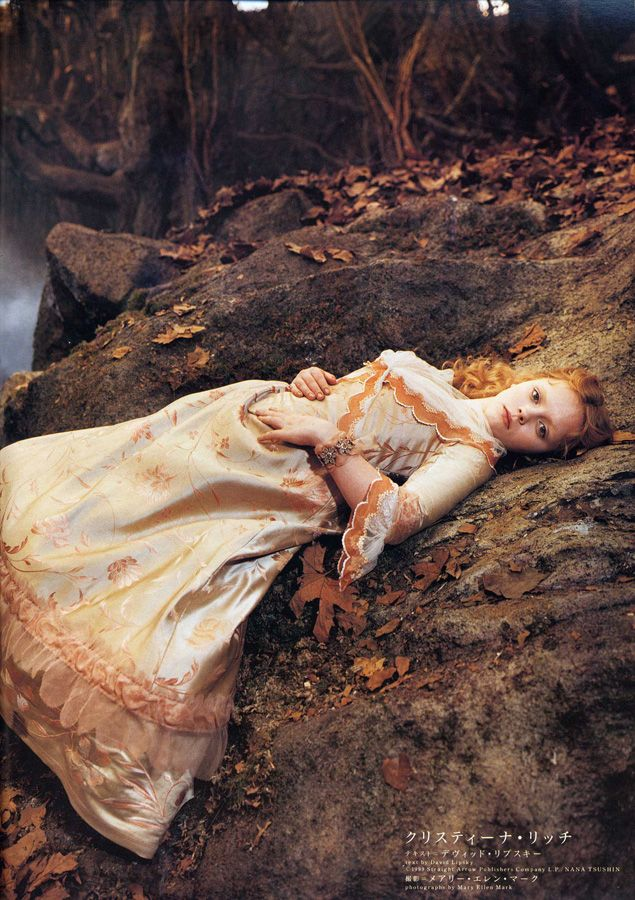 Beautiful promo shot for Sleepy Hollow with Katrina's peach gown.
