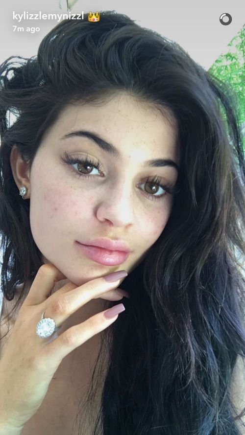 Imagen de kylie jenner, no makeup, and snapchat                                                                                                                                                                                 More