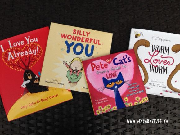 Harper Collins Valentine's Day Books you and your kids will love! Pete the Cat, I Love You Already, Silly Wonderful You an Worm Loves Worm are perfect books to add to your bookshelves!