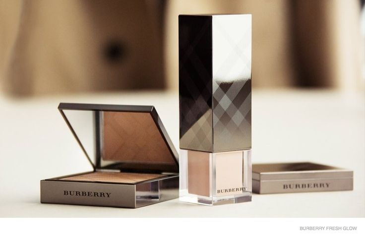 """Burberry Fresh Glow--Before she went brunette, model Suki Waterhouse shot a campaign for Burberry's new """"Fresh Glow"""" makeup collection. Photographed by Cun"""