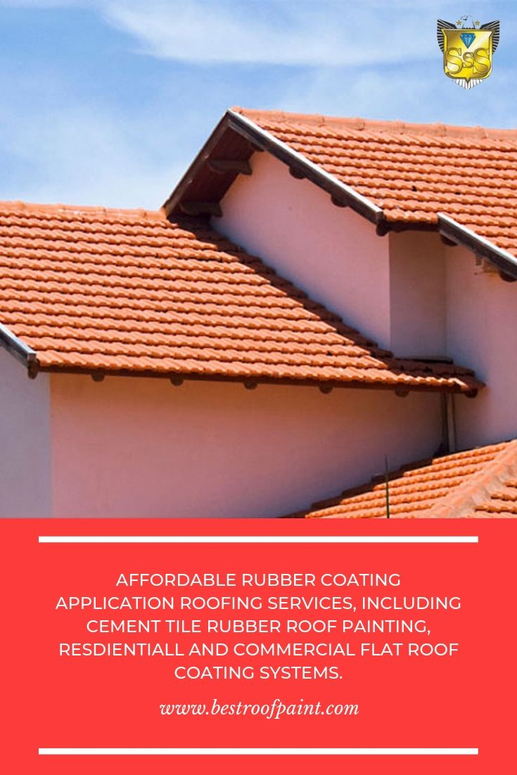 We Are Experts In Providing Professional Rubbercoating Including Cement Tile Rubberroofpainting For Mor Roof Paint Roof Restoration Commercial Flat Roof