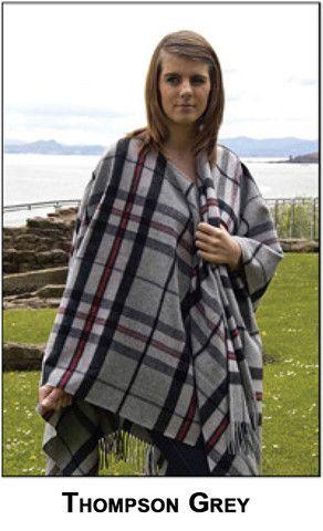 Lambswool Tartan Capes – Real Wool Shop