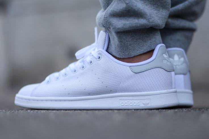 "adidas Stan Smith ""White/Light Solid Grey"""