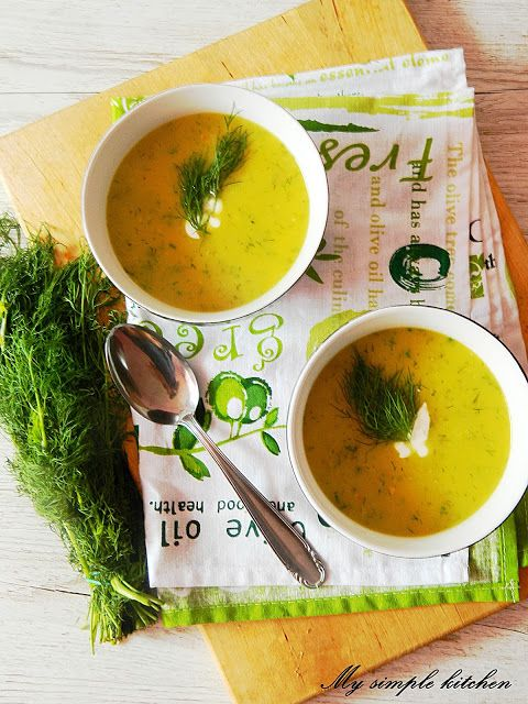 My simple kitchen: Zupa z cukinii