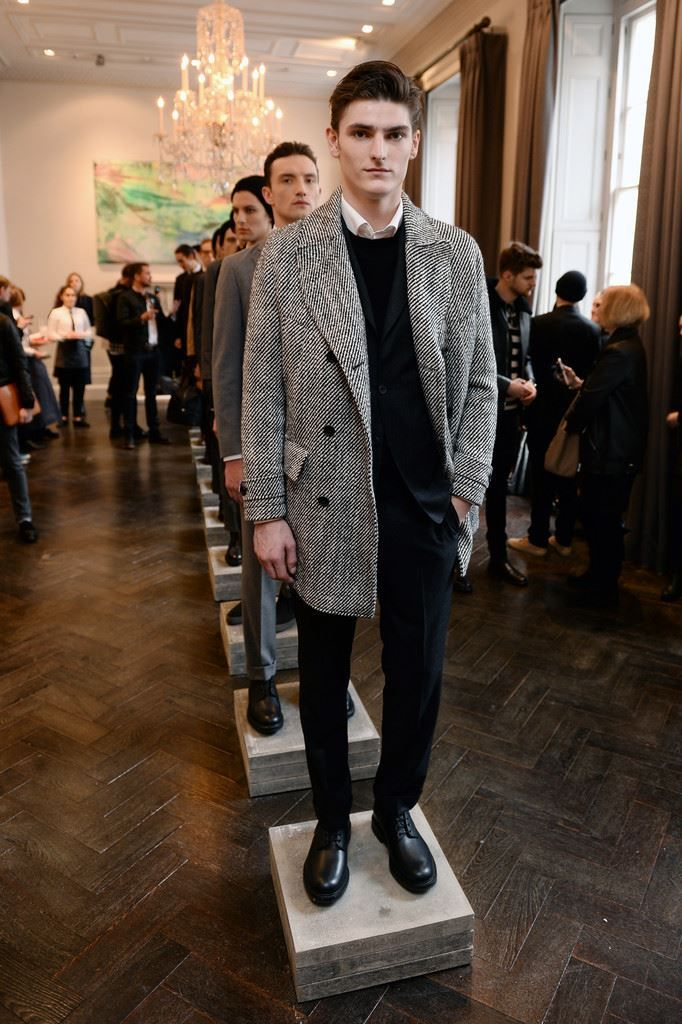 Hardy Amies Fall/Winter 2016/17 - London Collections: MEN - Male Fashion Trends