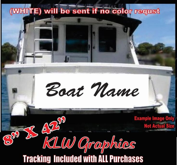 Unique Boat Name Decals Ideas On Pinterest Stickers For Yeti - Boat vinyl decalstracker inch boat graphic vinyl decals set ofgreat