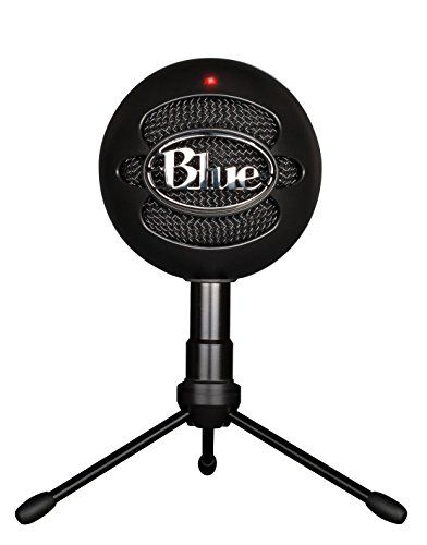 Its never been easier to get high-quality sound for your voice and computer-based audio recordings. At home the office-or anywhere for that matter-the Snowball ice USB microphone delivers audio qu...