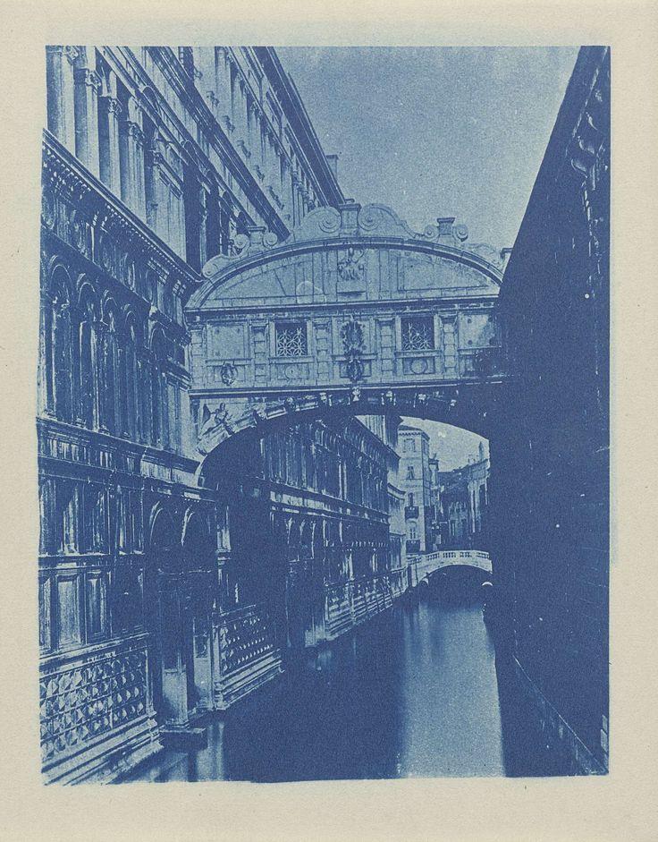 Brug der Zuchten (Ponte dei Sospiri), Venetië, Italië, anoniem, ca. 1900 - ca. 1925