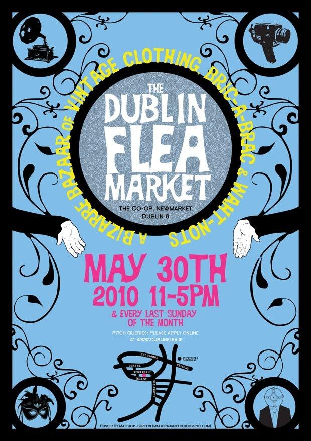 Matthew J Griffin Illustration: Flea Market Poster Mark II