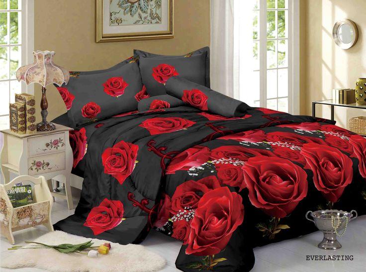 """EVERLASTING - """"Mawar selalu berarti Keindahan dan Keabadian, jadikan nuansa kamar tidur menjadi terlihat mewah dan abadi dengan koleksi Motif Everlasting dari Kintakun Luxury"""""""