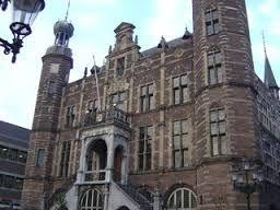 Het stadhuis in Venlo uit 1598.