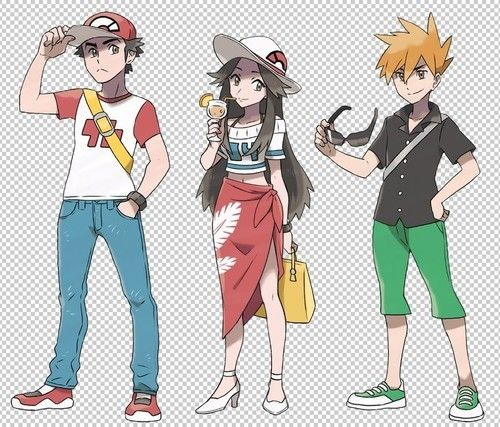 What Leaf/Green/Blue or female trainer could have been if she was in Pokemon Sun and Moon