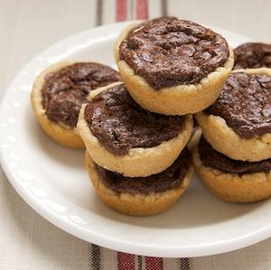 Peanut Butter Fudge Tartlets