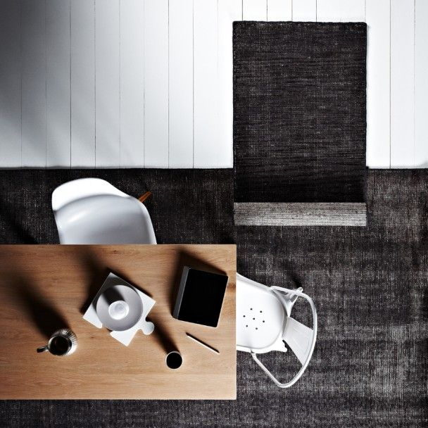Anthracite Rug - Currently In Stock | WorldWeave
