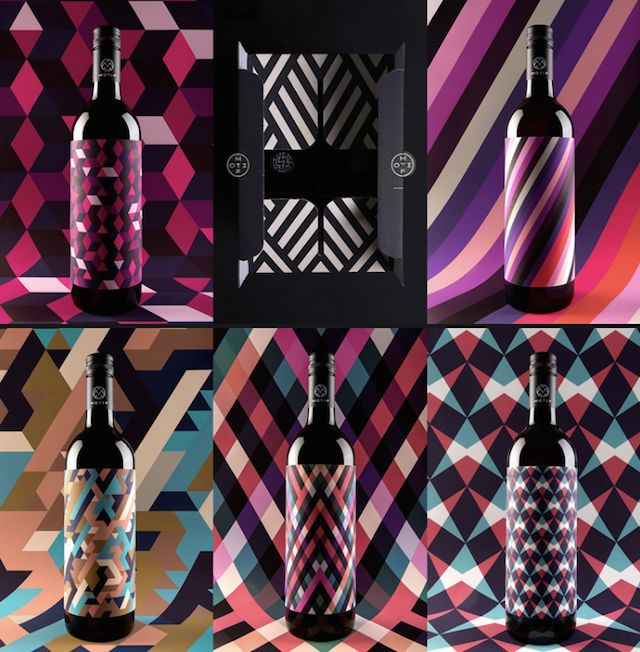 Motif Wine Packaging by En Garde