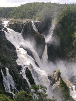 Kuranda Falls, Kuranda, Queensland, Australia