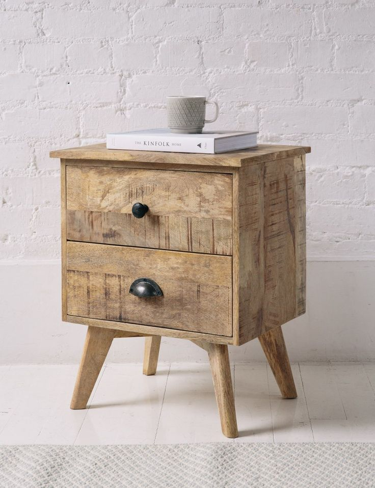 Stockholm Bedside Table From Rose U0026 Grey