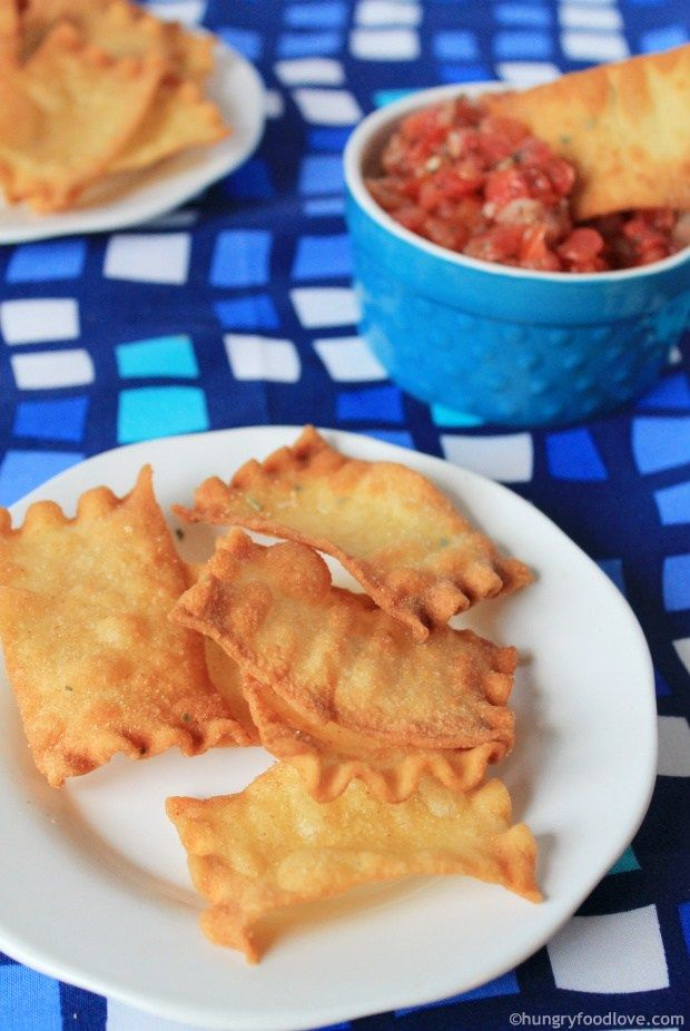 Lasagna Pasta Chips (or tortillas)   |   hungryfoodlove.com