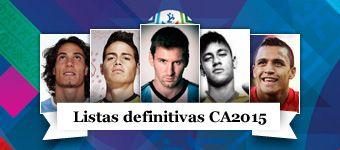 Todos los jugadores de la Copa América