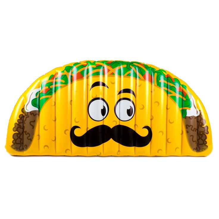 Big Mouth Toys Taco Pool Float - Yellow