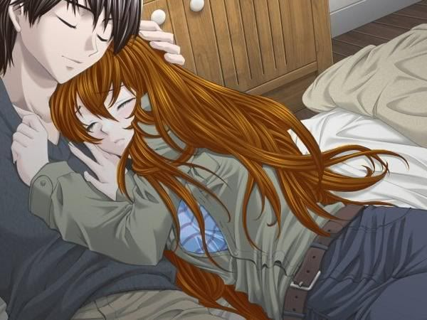 Gallery For > Cute Anime Couple Fighting | Art - Anime ...