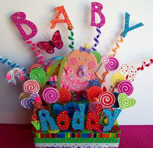 "candyland birthday | Candyland Birthday Centerpiece large 11"" cake topper for children ..."