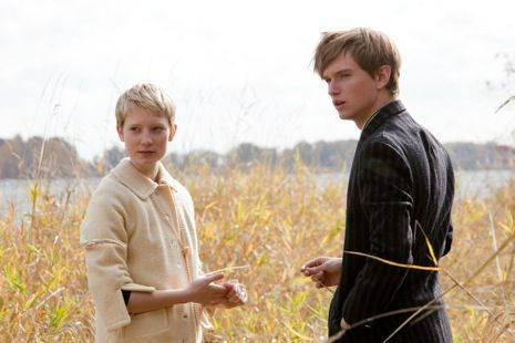 Mia Wasikowska and Henry Hooper in Restless (2011) directed by Gus Van Sant