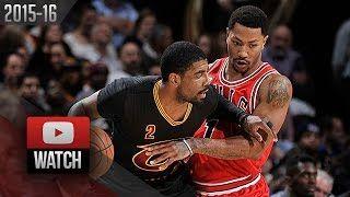 Kyrie Irving - Cleveland Cavaliers - Derrick Rose - Chicago Bulls