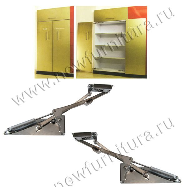 Механизм для сдвижной двери YS340 с доводчиком + штанга 2м