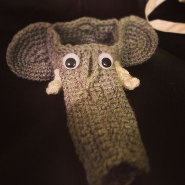 Willy Warmer Knitting Pattern : Elephant willy warmer. Super easy to make! Willie Warmers Pinterest Ele...
