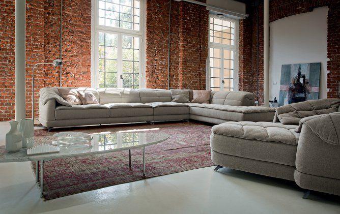 Design 2014 Ditre Italia - Sofa Dunn Soft - Products - Design