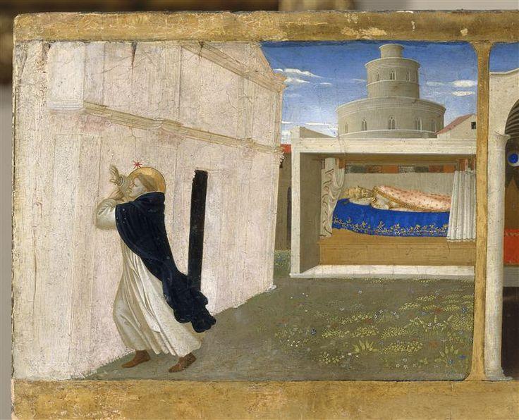 Fra Angelico | Coronation of the Virgin (detail), c. 1434 | Paris, musée du Louvre