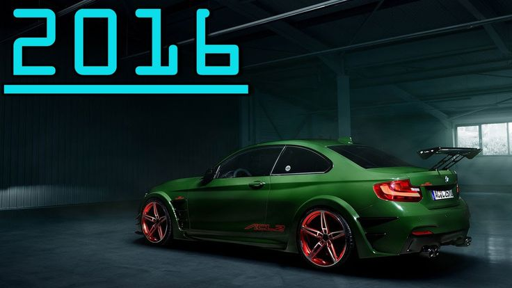 ►2016 AC Schnitzer ACL2 Concept AC Schnitzer Sports Exhaust System First...