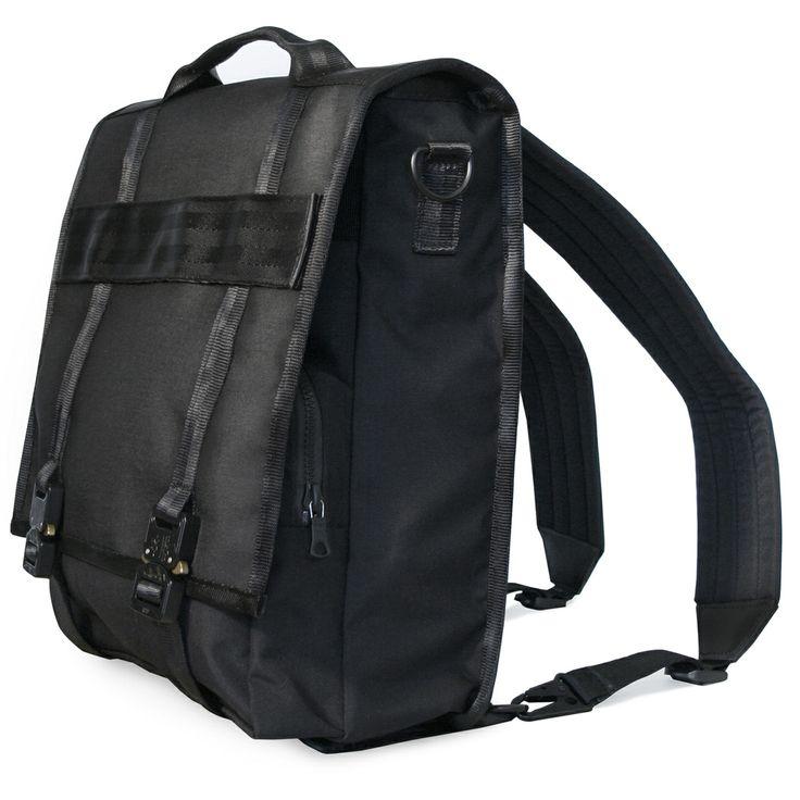 My new bag for commuting.  Defy Bags - Lug, $268.00 (http://www.defybags.com/lug/)