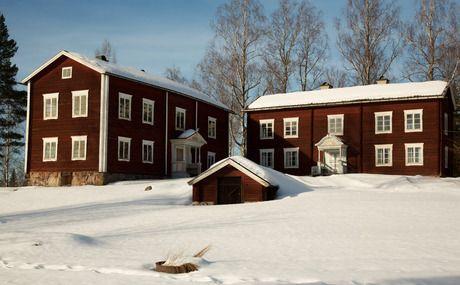 Hälsingegård - Image Bank Sweden