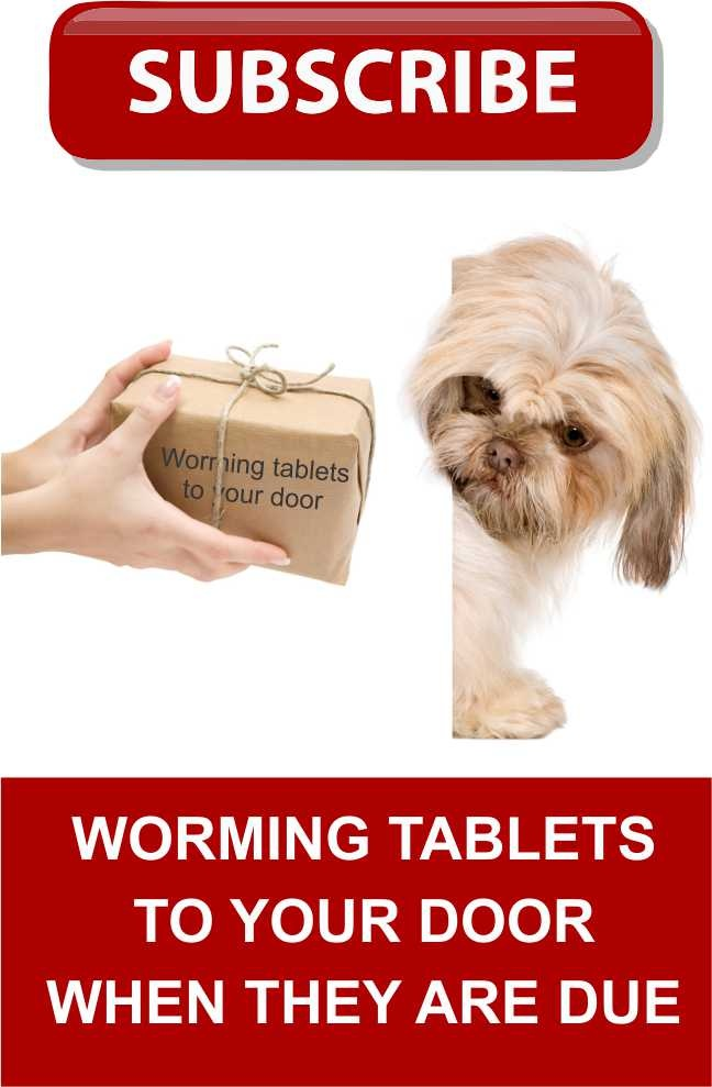 If you want to have your pet worming tablets posted to us log on here