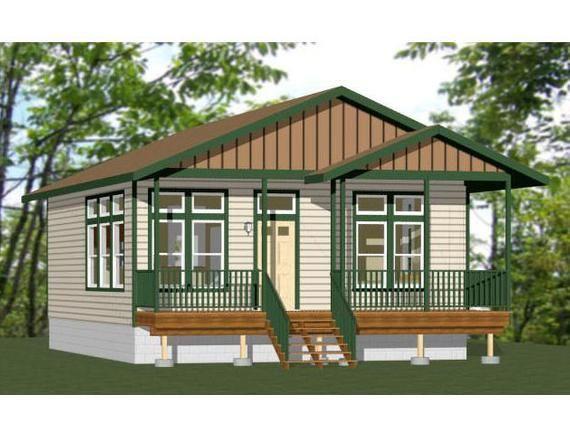 26x32 House 1 Bedroom 1 Bath 832 Sq Ft Pdf Floor Plan Etsy House Plans Cabin House Plans Floor Plans