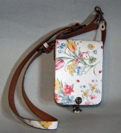 Bőr válltáska és övtáska Vintage stílusban 4. - women's bag