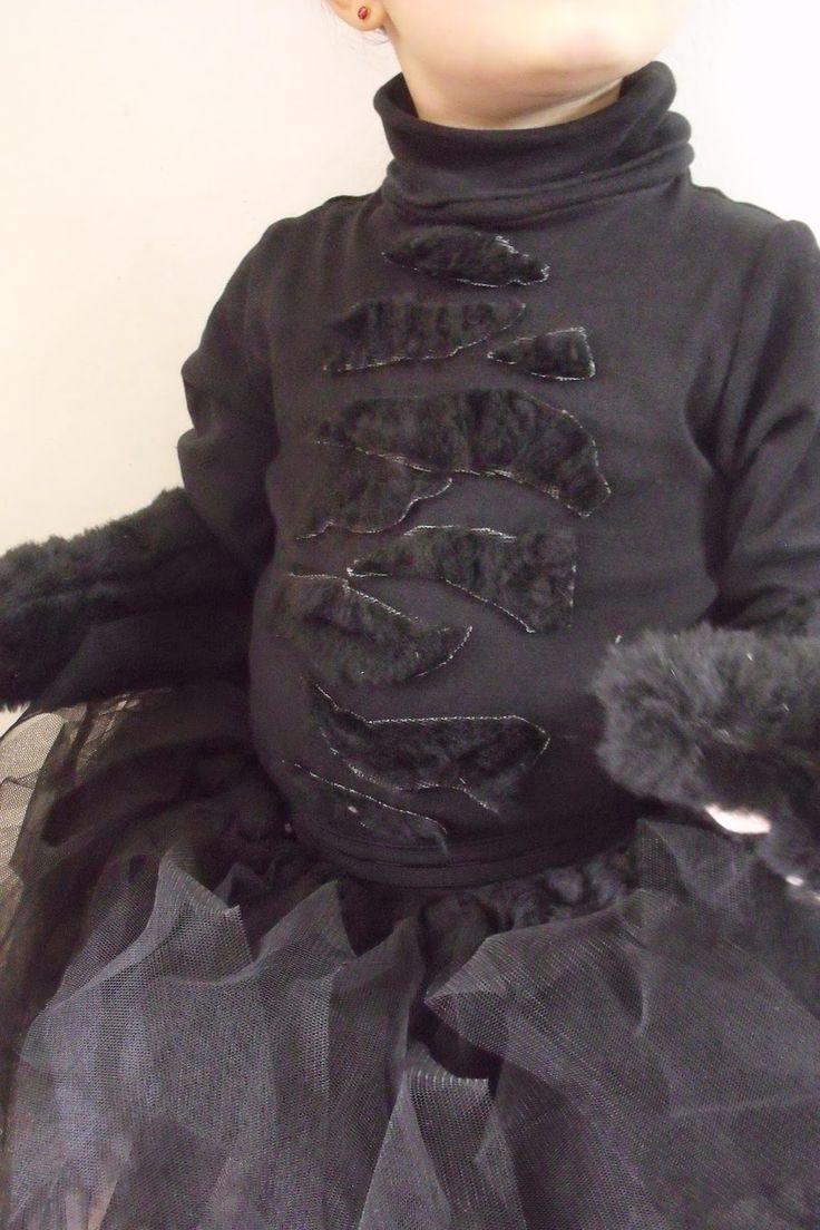 diy tuto costume chat noir fille halloween tuto costume. Black Bedroom Furniture Sets. Home Design Ideas