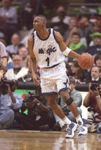 Penny Hardaway.   One of my childhood idols. Could have been one of the greatest players of all time if he hadn't been hobbled by injuries.