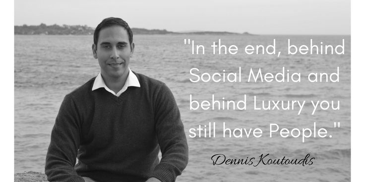 """""""A great deal is being said about the rivalry between the Internet and the so-called bricks and mortar businesses (the physical store). In luxury things are not so clear cut. #SocialMedia may be offering the complete array of a brand's products but it cannot replace the flagship, a space whose function is not just the display of products but the communion of the brand's personality and aura. It is an emotional experience triggered by immediacy"""""""