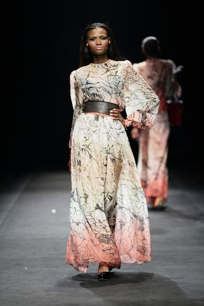 David Tlale - NEW YORK FASHION WEEK SPRING 2012