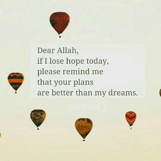 Dear Allah ❤