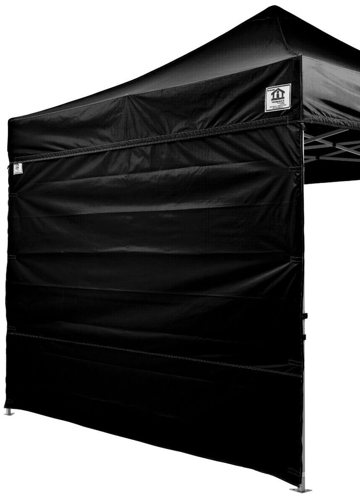 Impact Canopy 10x10 Canopy Tent Solid Sidewalls/WHITE Screen Room Sidewalls Combo Pack (Black) *** Click image for more details.