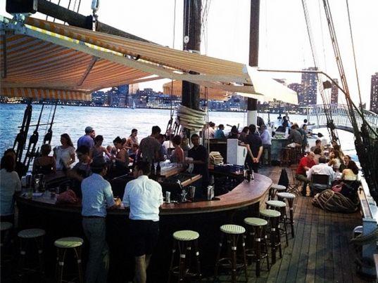 Grand Banks NYC Restaurant | Floating Restaurants, floating restaurants nyc, nyc boat restaurant ...