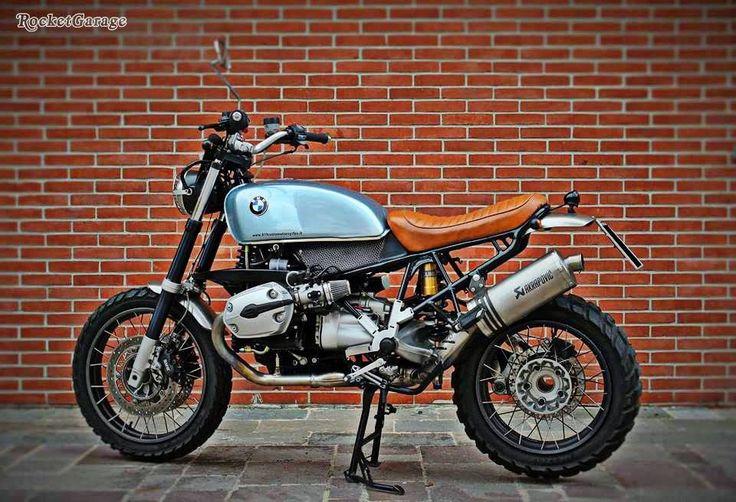 RocketGarage Cafe Racer: GS Scrambler by Ottocento11